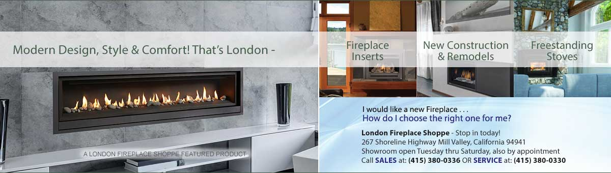 London Chimney Services And Fireplace Shoppe In San Francisco And